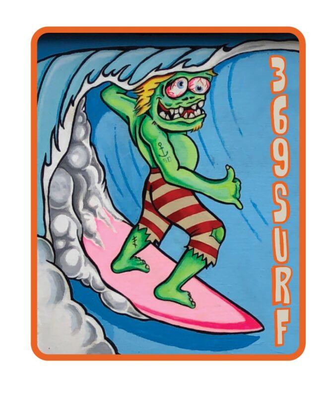369 Surf Zombie Goofy