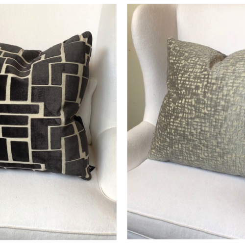 Pillows to obsess over