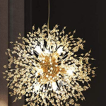 Plug In Sputnik Chandelier