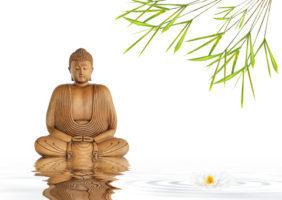 (Zen Buddha Silence by Marilyn Barbone)