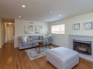 Living room at 1190 Crestline Dr, Cupertino