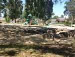 Play areas at Three Oaks Park in Cupertino
