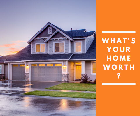 What's your home worth - two story house