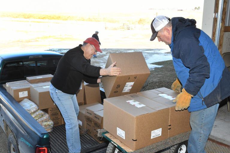 Living Faith Food Pantry Ways to Support Unloading