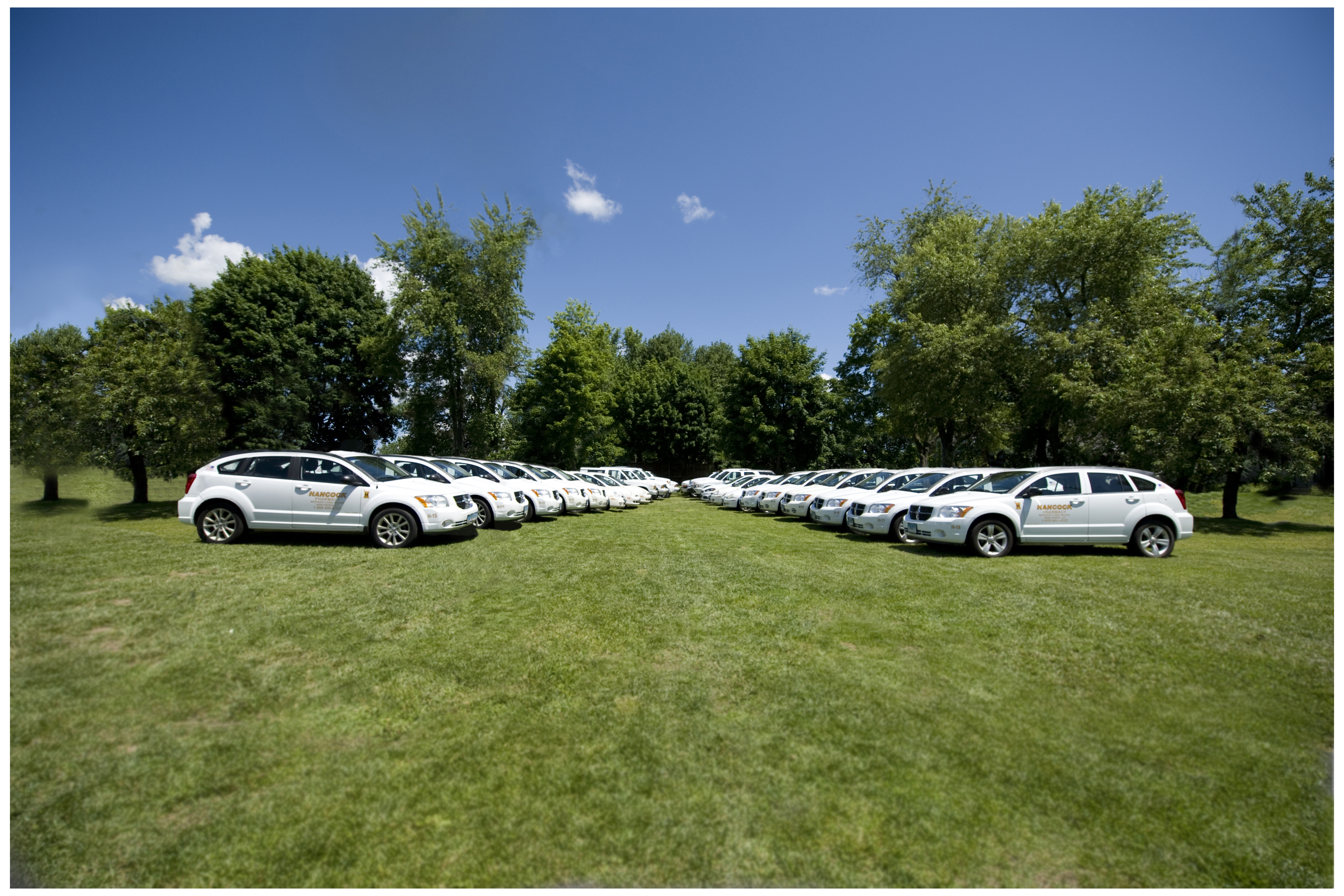 Hancock Pharmacy Fleet of Cars