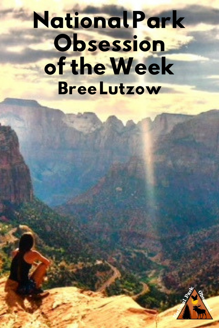 Learn about National Park Obsessed Community member Bree Lutzow. Bree is from Orlando and is using her love of travel to explore the national parks. #nationalparkobsessed #findyourpark #nationalpark #nationalparks #nationalparkgeek