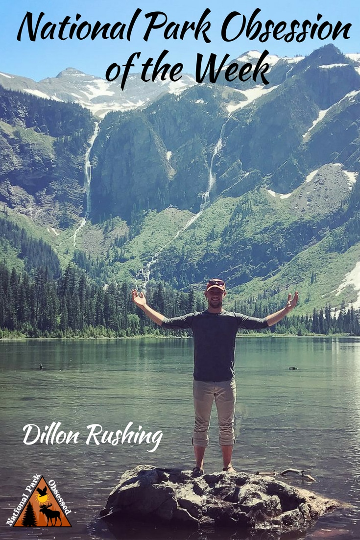 Learn about National Park Obsessed Community member Dillon Rushing. His obsession with the US National Parks began by exploring the outdoor areas of Illinois. #nationalparkobsessed #findyourpark #nationalpark #nationalparks #nationalparkgeek