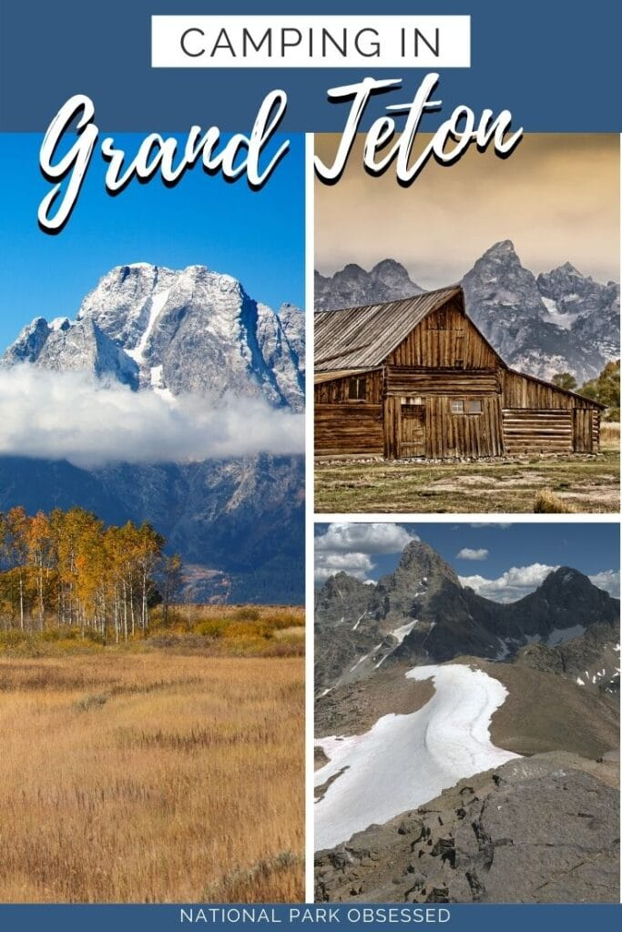 Planning on going camping in Grand Teton National Park? Confused about which campsite to pick. National Park Obsessed's Ultimate Guide is here to help you pick the very best campsite. #NationalParkObsessed #NationalParkGeek #NationalPark #NationalParks #FindyourPark #NPS #grandteton #camping Grand Teton national park vacation | Grand Teton national park vacation | Grand Teton national park photography | Grand Teton national park itinerary | Grand Teton hikes | Grand Teton itinerary