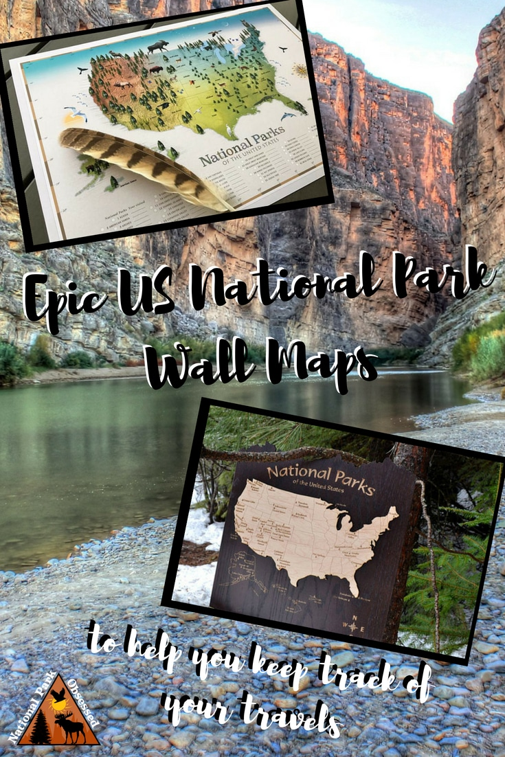 Looking for a USA National Parks Map to track your national park travels. Check out this incredibly detailed map by GeoJango Map. #nationalparkmap #nationalparks #nationalpark #nationalparkservice
