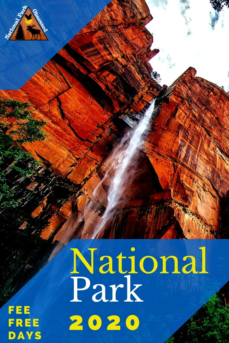 Looking to visit a national park in 2020? Here the 2020 free entrance days where you can enter national parks for free. These fee free days make for an excuse to visit a nearby national park. #findyourpark #nationalparks #nationalpark #goparks #nationalparkobsessed #freeactivites