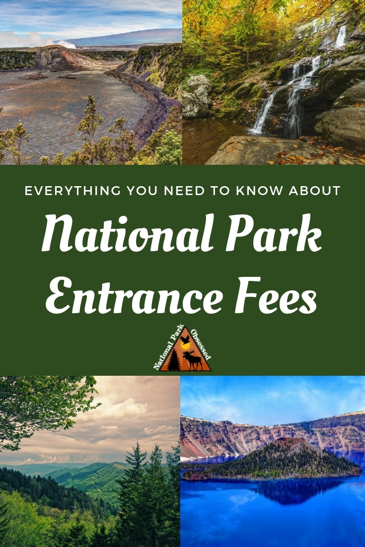 Are you just an occasional visitor to the US National Parks? About 115 of the National Park units charge an entrance fee. Here is a complete list of all the parks. #nationalpark #nationalparks #findyourpark #nationalparkgeek #nationalparkobsessed