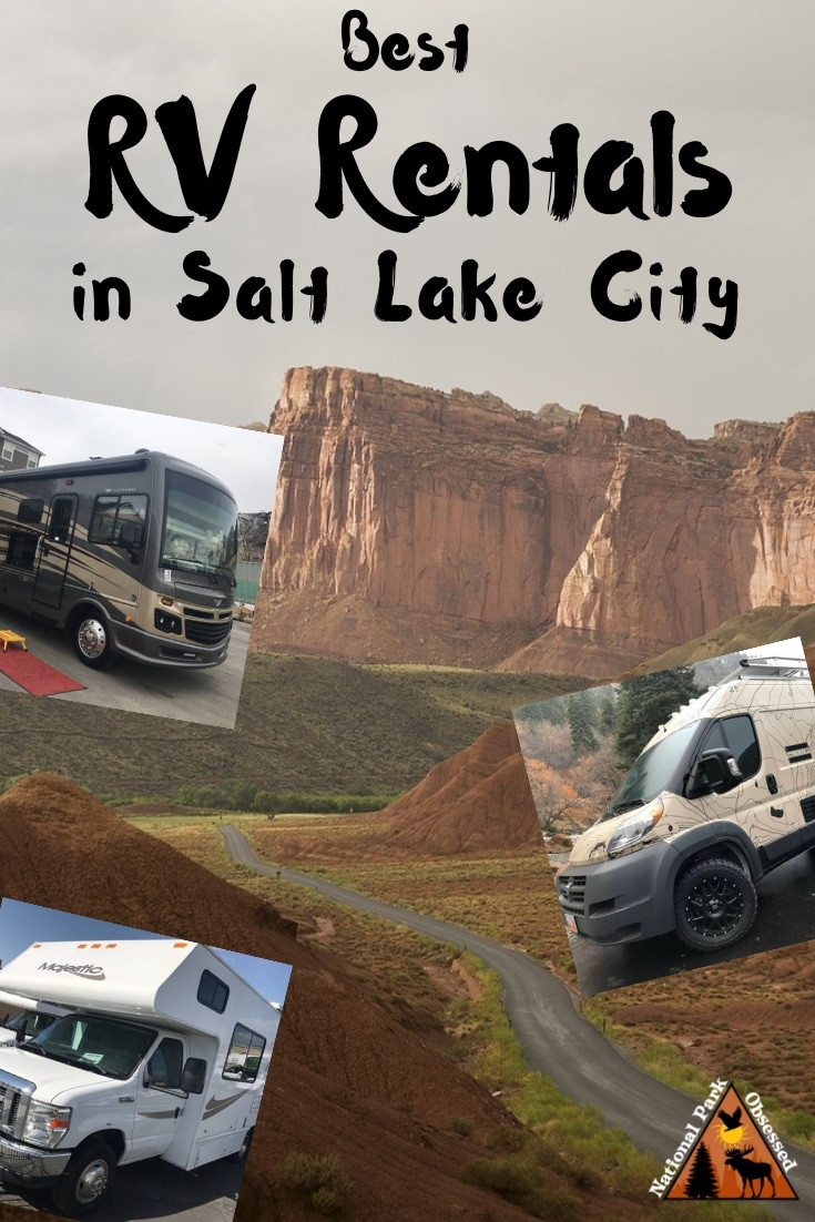 Are you looking for an RV Rental for your Utah Road Trip? Here are the best RV rentals in Salt Lake City. They range from luxury Class As to campervans. #rvrental #utah #utahnationalparks #mighty5 #mightyfive #nationalparkobsessed #nationalparks #nationalpark #Nationalparkgeek #findyourpark
