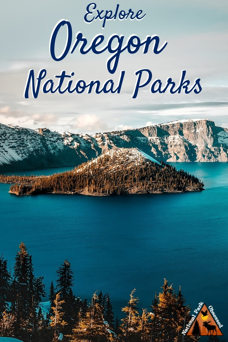 Heading to Oregon and want to explore. The National Parks of Oregon offers a range of parks to explore the great outdoors and a range of historical sites. #findyourpark #nationalparkobsessed #Oregon #pacificnorthwest #pnw #nationalparks #nationalpark #craterlake #oregontrail