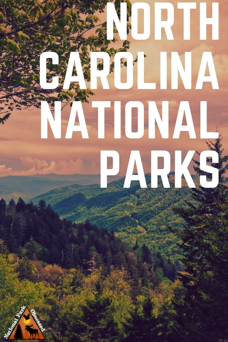 Looking to visit all the national parks in North Carolina? Here is a breakdown of all the amazing national parks in this amazing state. #findyourpark #nationalparkobsessed Appalachian National Scenic Trail Blue Ridge Parkway Cape Hatteras National Seashore Cape Lookout National Seashore Carl Sandburg Home National Historic Site Fort Raleigh Great Smoky Mountains National Park Guilford Courthouse Moores Creek National Battlefield Wright Brothers
