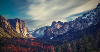 One Day in Yosemite Valley