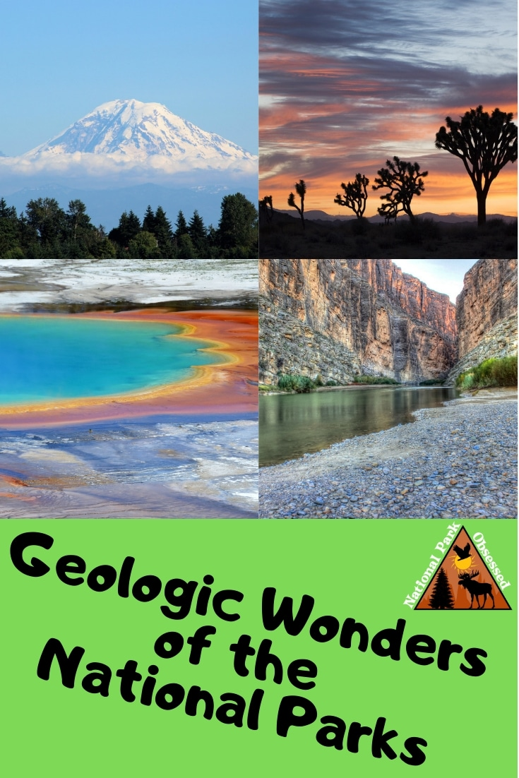 The US is full of geologic wonders. Nowhere is that better showcased than in the National Parks. Check out the Geologic Wonders of the National Parks #Nationalparks #nationalpark #findyourpark