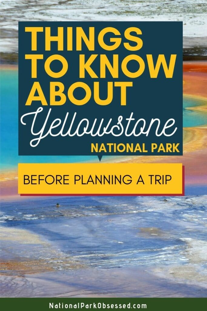 Planning a trip to Yellowstone National Park and don't know where to start? Here are 13 things to know before visiting Yellowstone National Park  Yellowstone national park vacation.  Yellowstone national park | Yellowstone national park vacation | Yellowstone national park photography | Yellowstone national park itinerary | Yellowstone hikes | Yellowstone itinerary