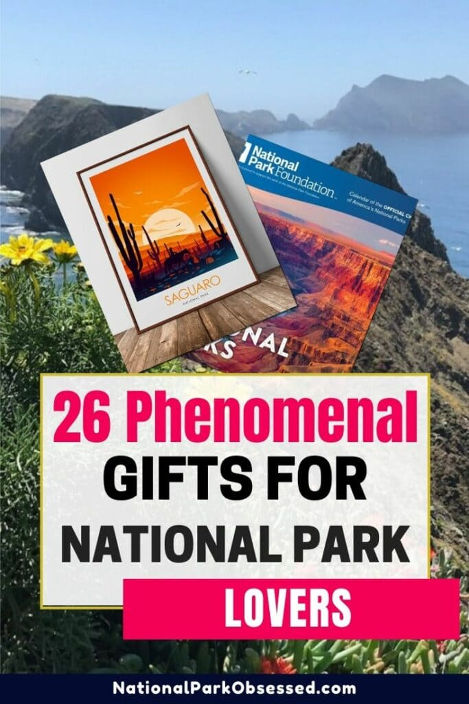 Looking for the perfect gift for the National Park adventurer in your life? Or are Here are 23 phenomenal National Park Gifts. Here are our favorite gifts. #nationalparks #nationalpark National park gift / gift for national park lovers / gifts national park