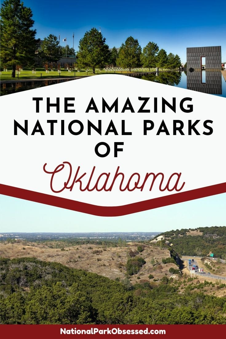 Heading to Oklahoma and want to explore a couple of national park service units. The National Parks of Oklahoma have plenty of history and wilderness to explore. #nationalparks #nationalpark #findyourpark #nationalparkobsessed #oklahoma