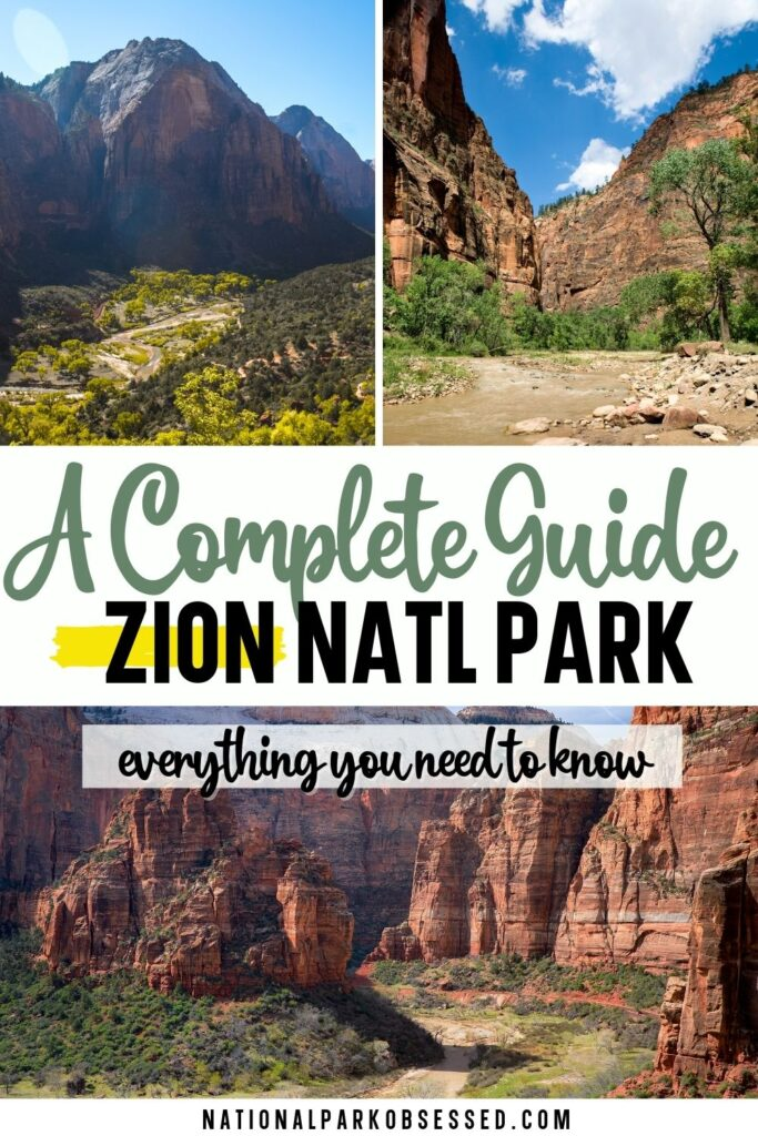 Visiting Zion National Park: The Complete Guide