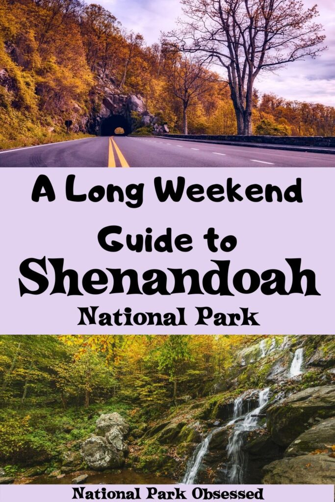 Looking to spend two days in Shenandoah National Park? Here is everything you need to know to make the most of your weekend in Shenandoah National Park. Shenandoah Itinerary / Shenandoah in two days / Shenandoah National Park Itinerary /