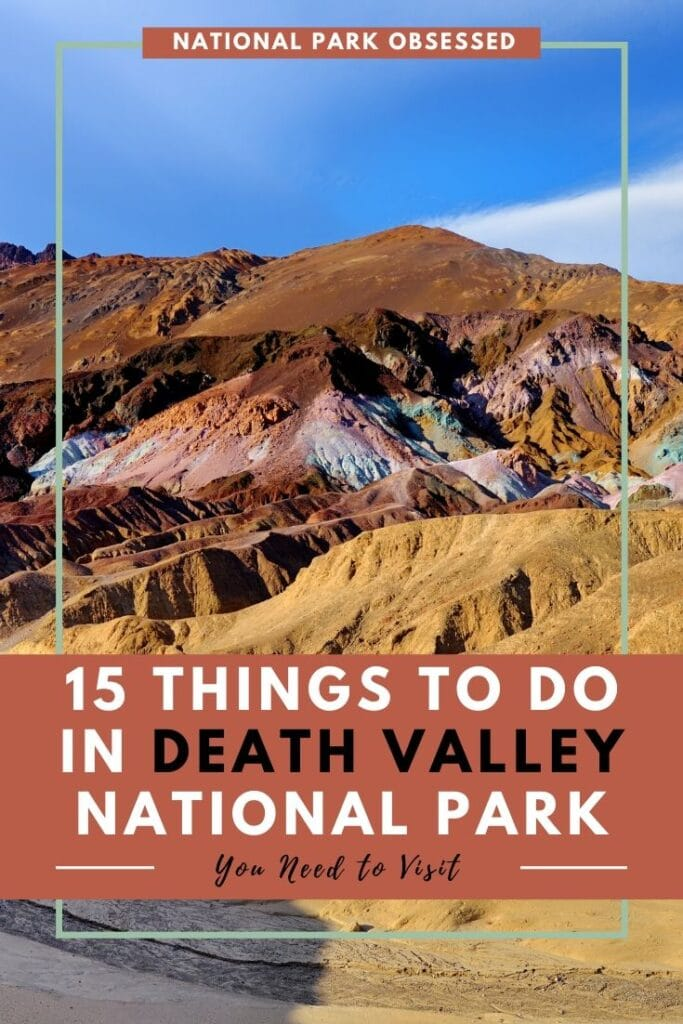 Planning your first visit to Death Valley? Here are 15 things you can't miss on your first visit to Death Valley National Park. Find the best things to do in the park.   things to do in Death Valley / Death Valley Things to do / must see death valley / death valley must sees