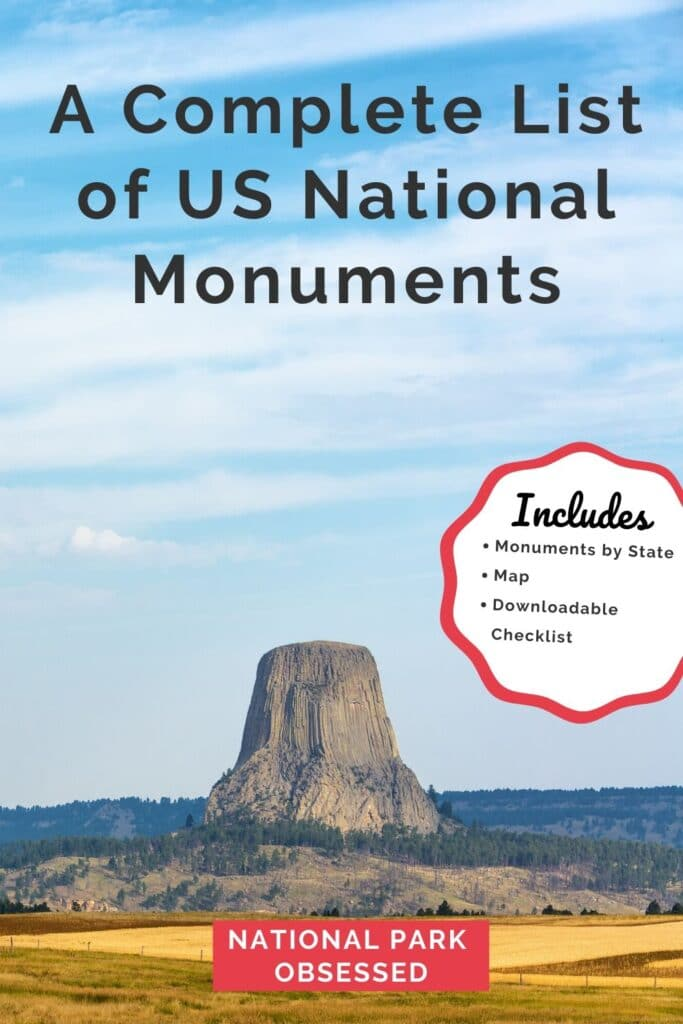 A Complete List of US National Monuments