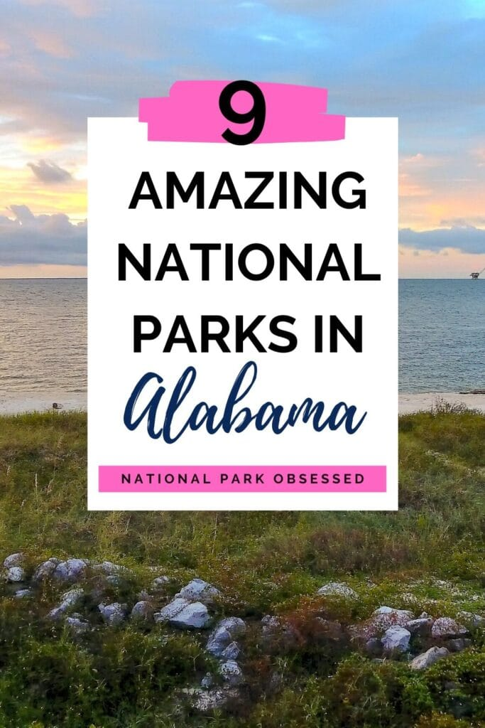 Click HERE to learn more about the National Parks of Alabama.  These unique 9 sites range from the Civil Rights to Native American History to Nature Sites.