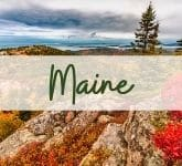 National Parks in Maine