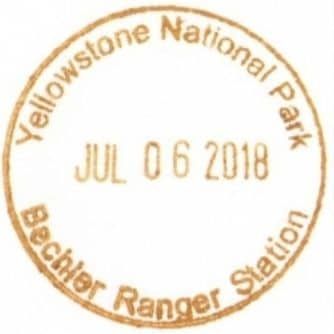 Bechler Ranger Station National Park Passport Stamp