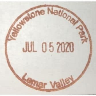 National Park Passport Stamp - Larmar Valley