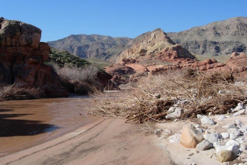 A river crossing in Arizona.