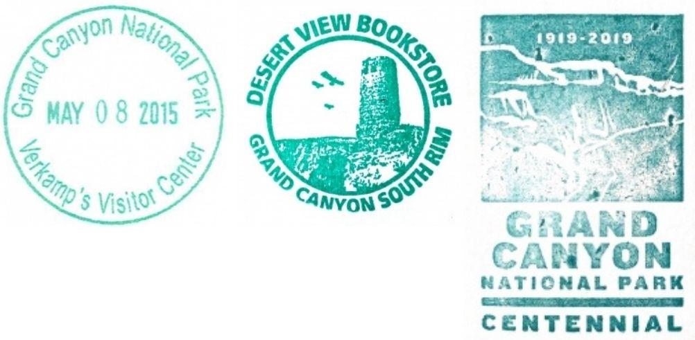 Grand Canyon National Park Passport Stamps - Desert View Watchtower