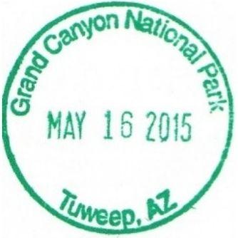 Grand Canyon National Park Passport Stamps - Tuweep Ranger Station