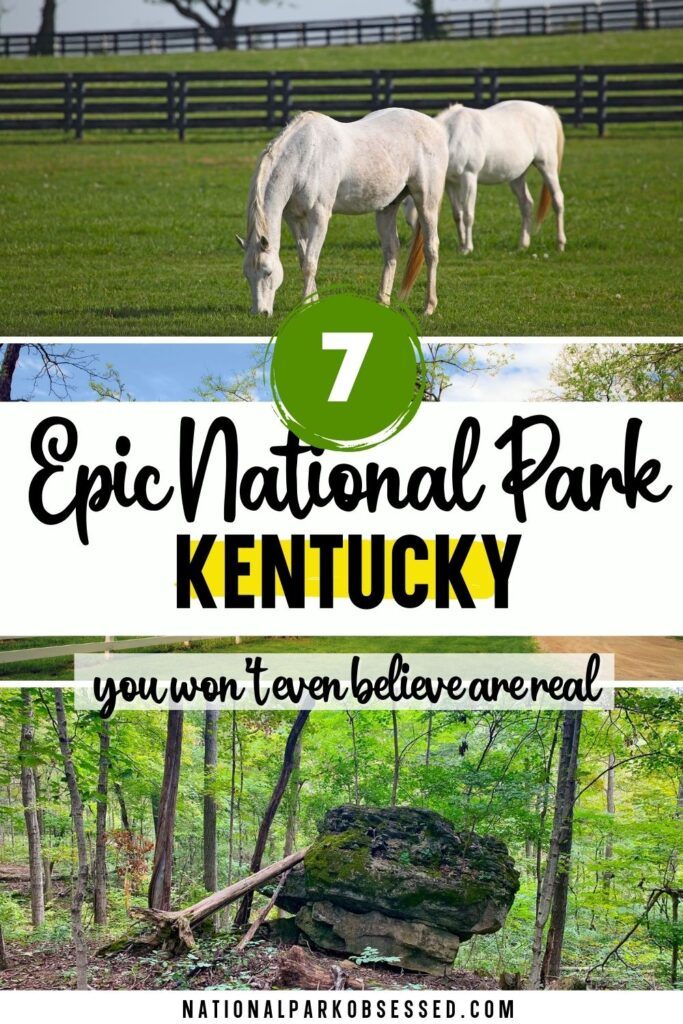 The national parks in Kentucky include the world's longest cave along with a range of Civil War History.  These 7 Kentucky National Parks are amazing sites.  list of national parks in kentucky / ky national parks / national park in kentucky / national parks in ky / national parks kentucky / national monuments in kentucky