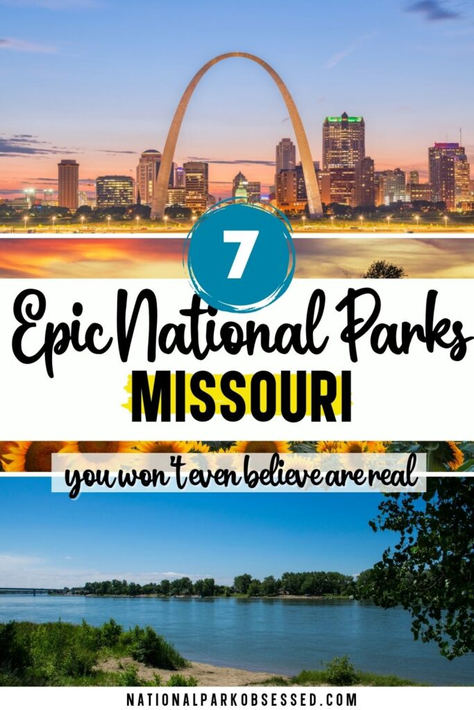 The national parks in Missouri are a little different than some of those in other states, but the 7 Missouri Parks are well worth the visit.  list of national parks in Missouri / missouri national monuments/ national monuments in missouri/ national parks in mo / best national parks in Missouri / national parks near kansas city / mo national parks