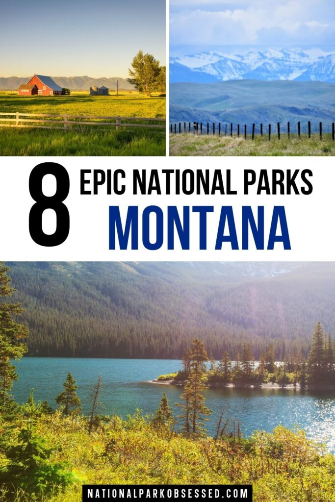 The national parks in Montana are some of the most impressive landscapes in North American.  These 8 Montana Parks are well worth the visit.  what national park is in Montana / best parks in Montana / montana's national parks / mt national parks/ national park in Montana / national park Montana / national parks in mt / national parks in montana map / national parks in montana and wyoming