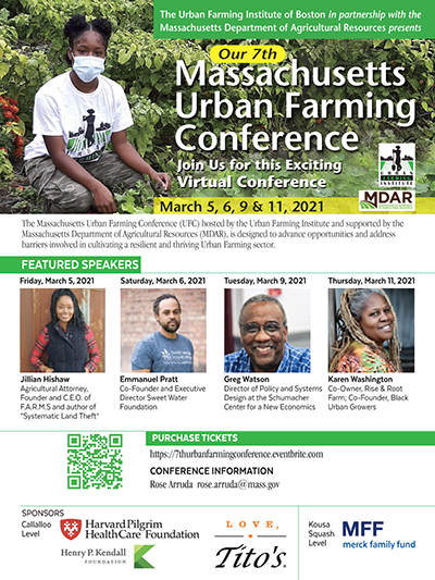 Mass. Urban Farming Conference