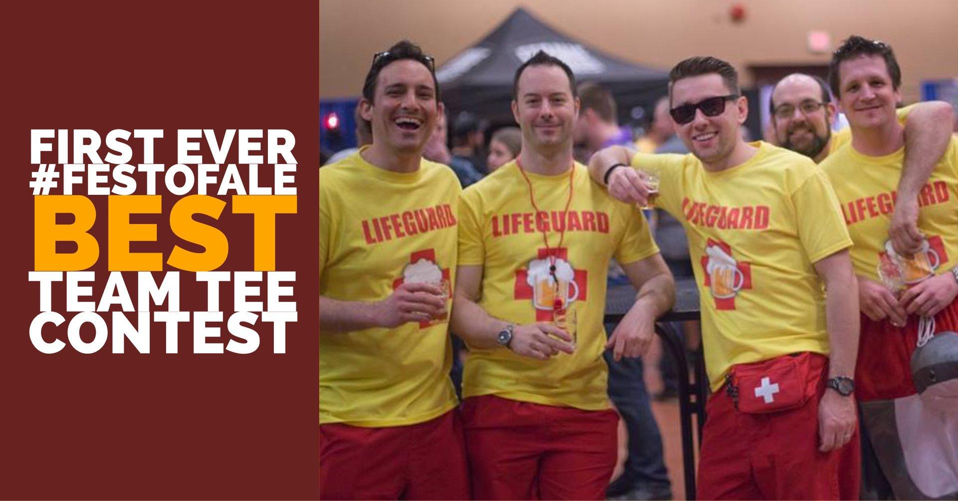 Best Team Tee at #FestofAle2018