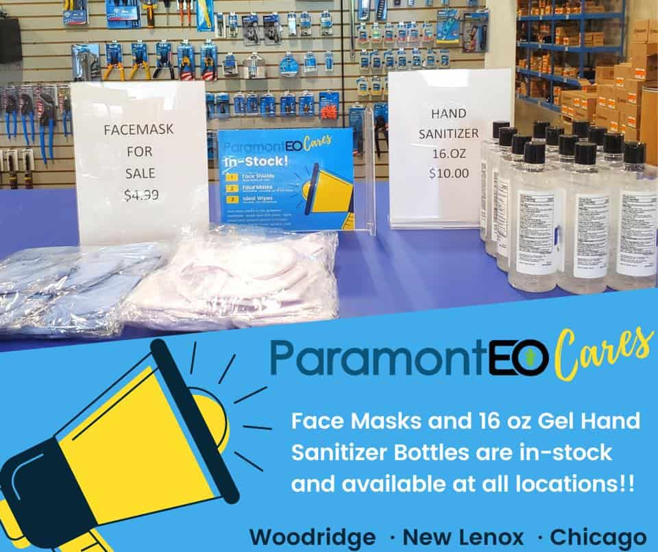 Personal Protection Equipment at Paramont
