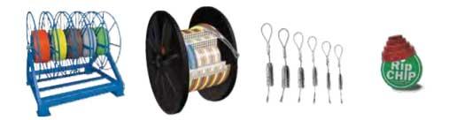 reels coils pulling heads