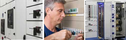 switchgear, power distribution, panel board