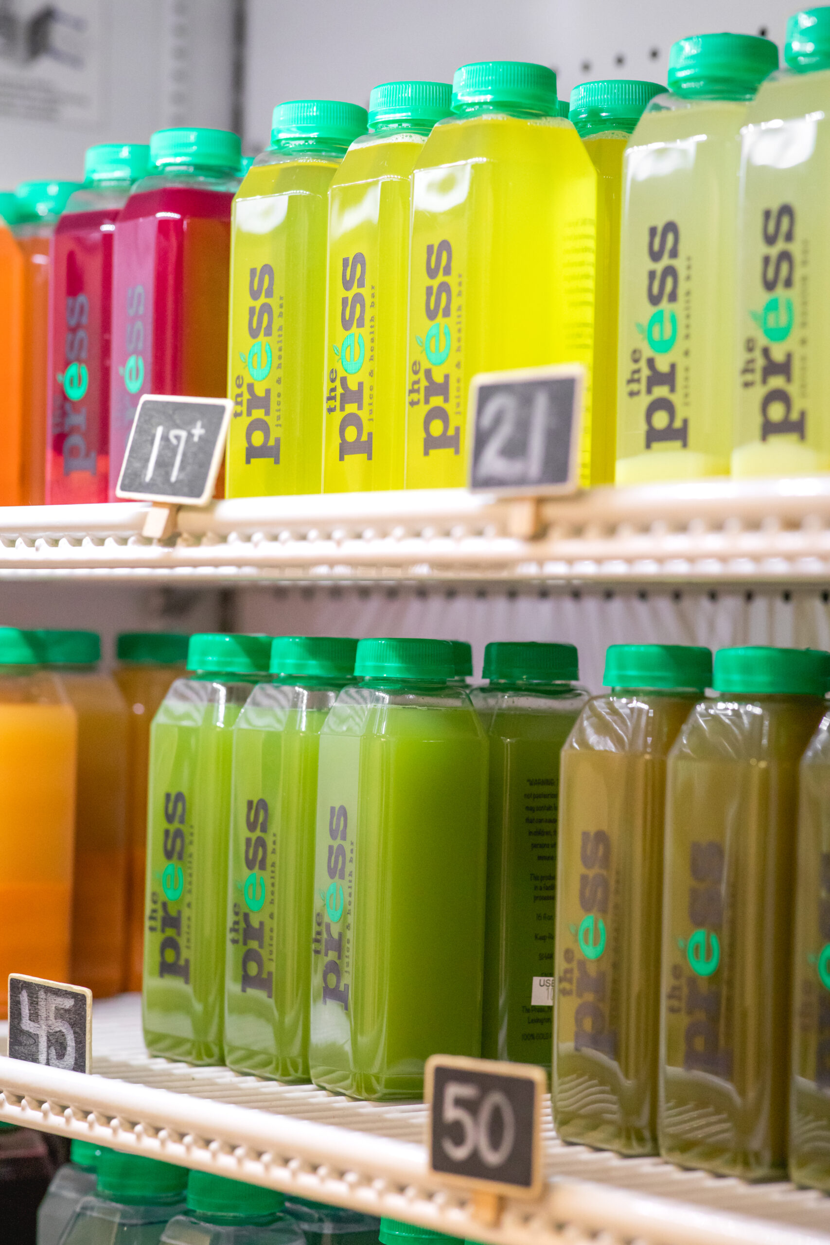 Press Juice Bar Cold Pressed Juices and Smoothies