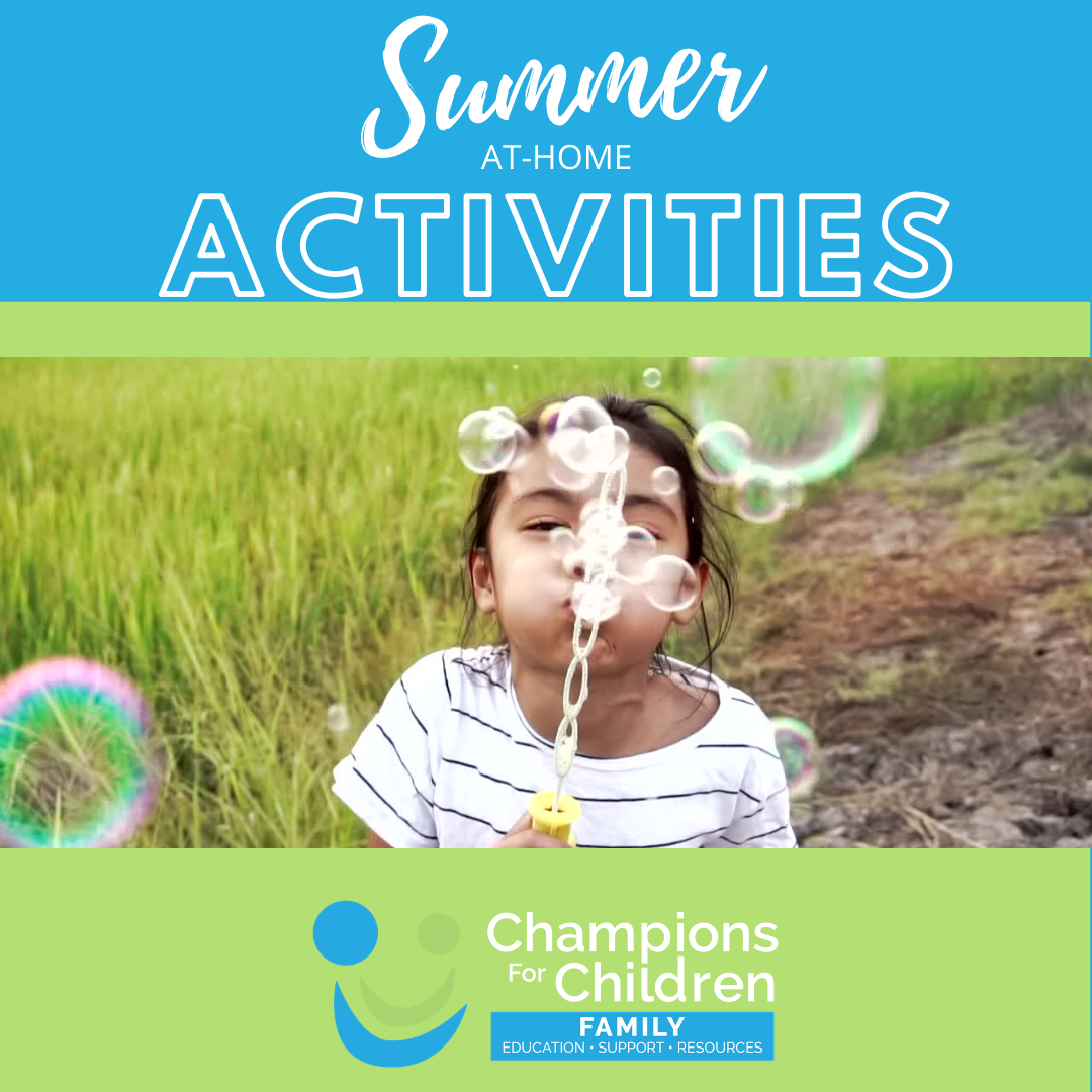 at home summer activities for kids