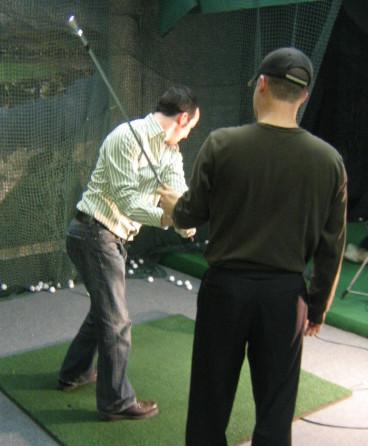 gary parker golf lesson