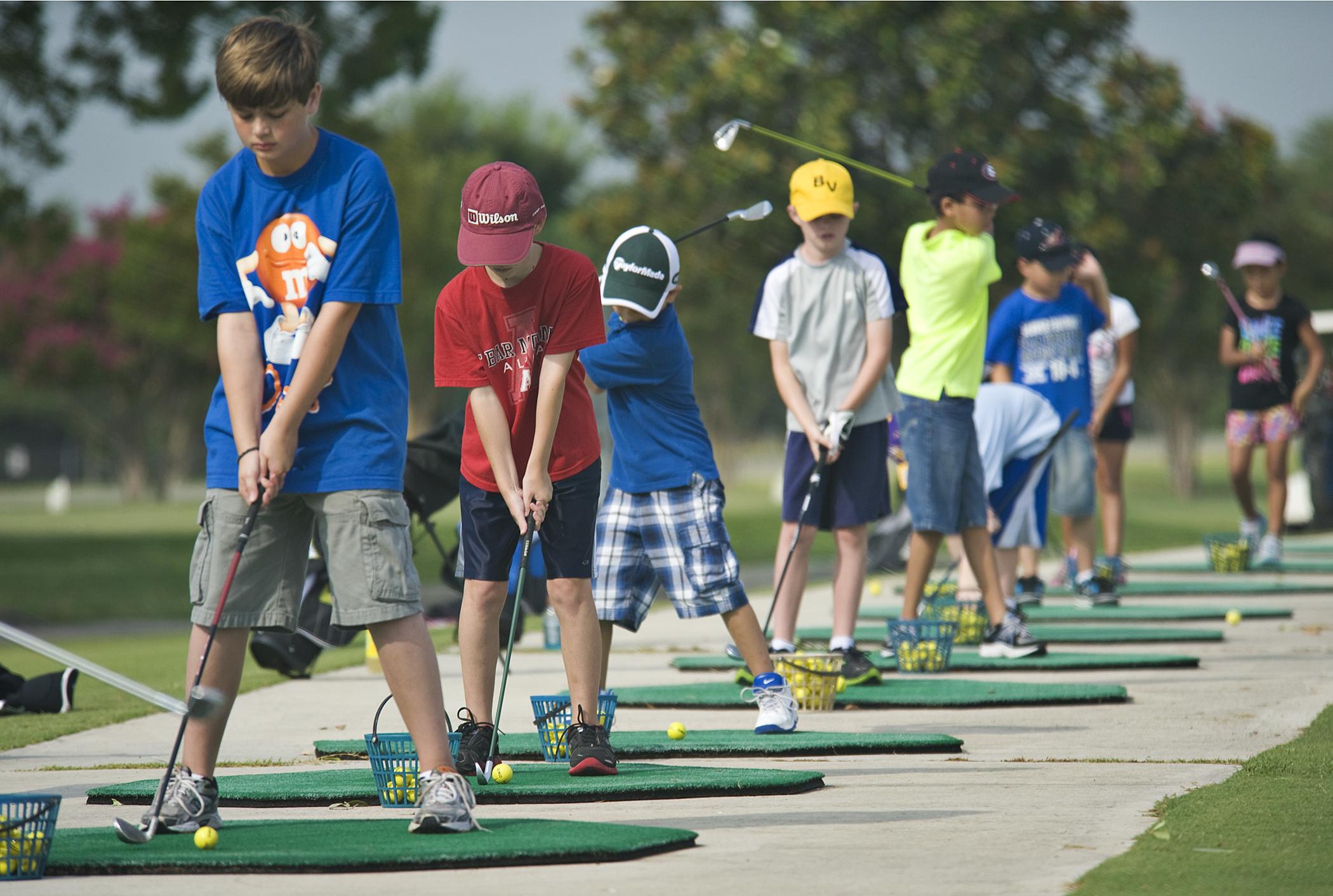 Matt, Junior Golf