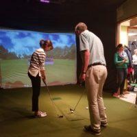 Event golf instruction
