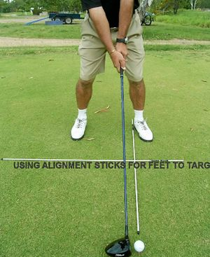 Driver ball alignment