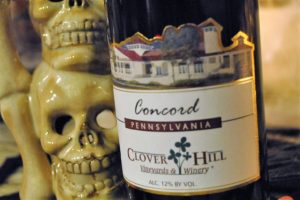 clover hill winery, concord, red wine