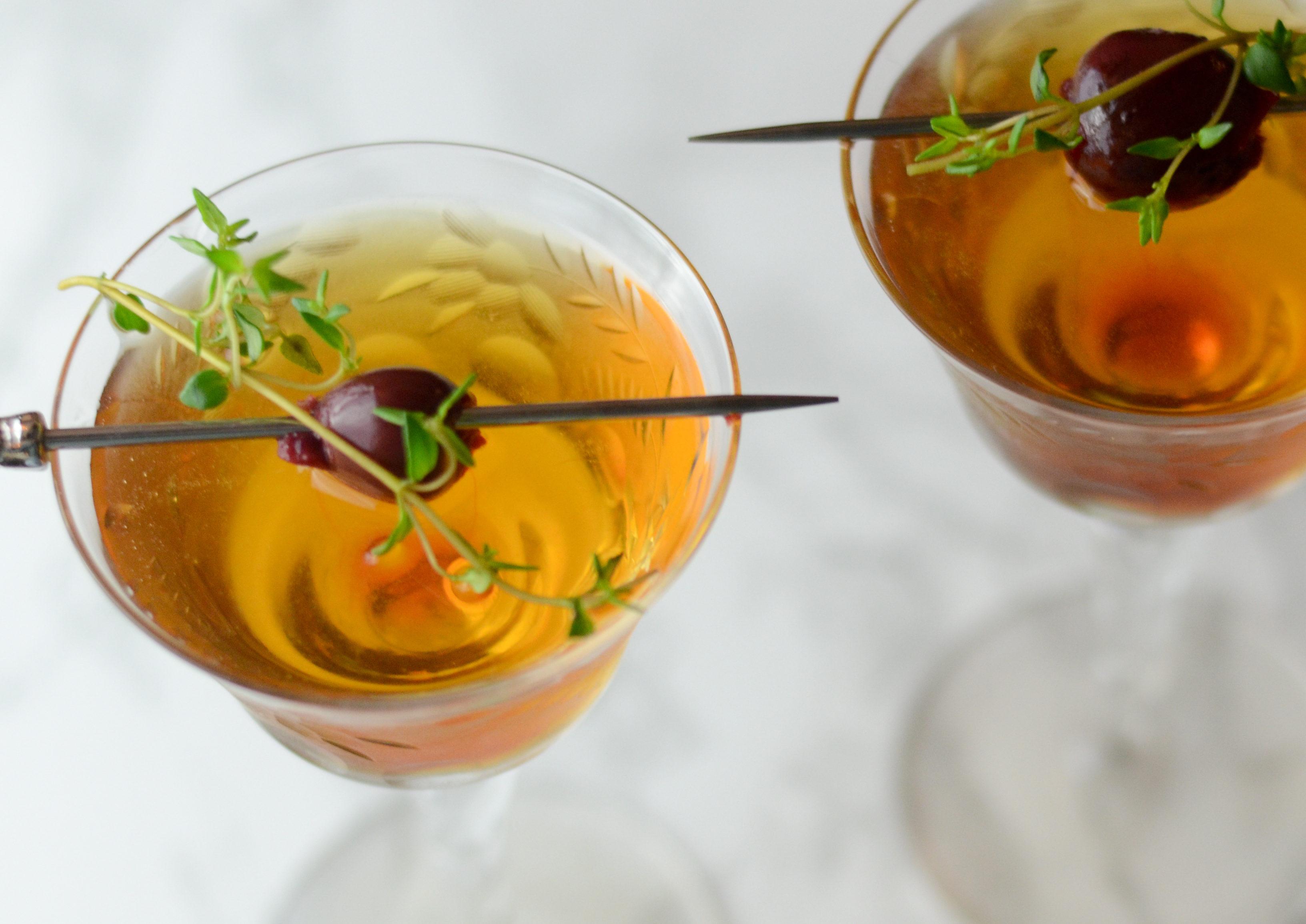 widows kiss cocktail chartreuse brandy benedictine